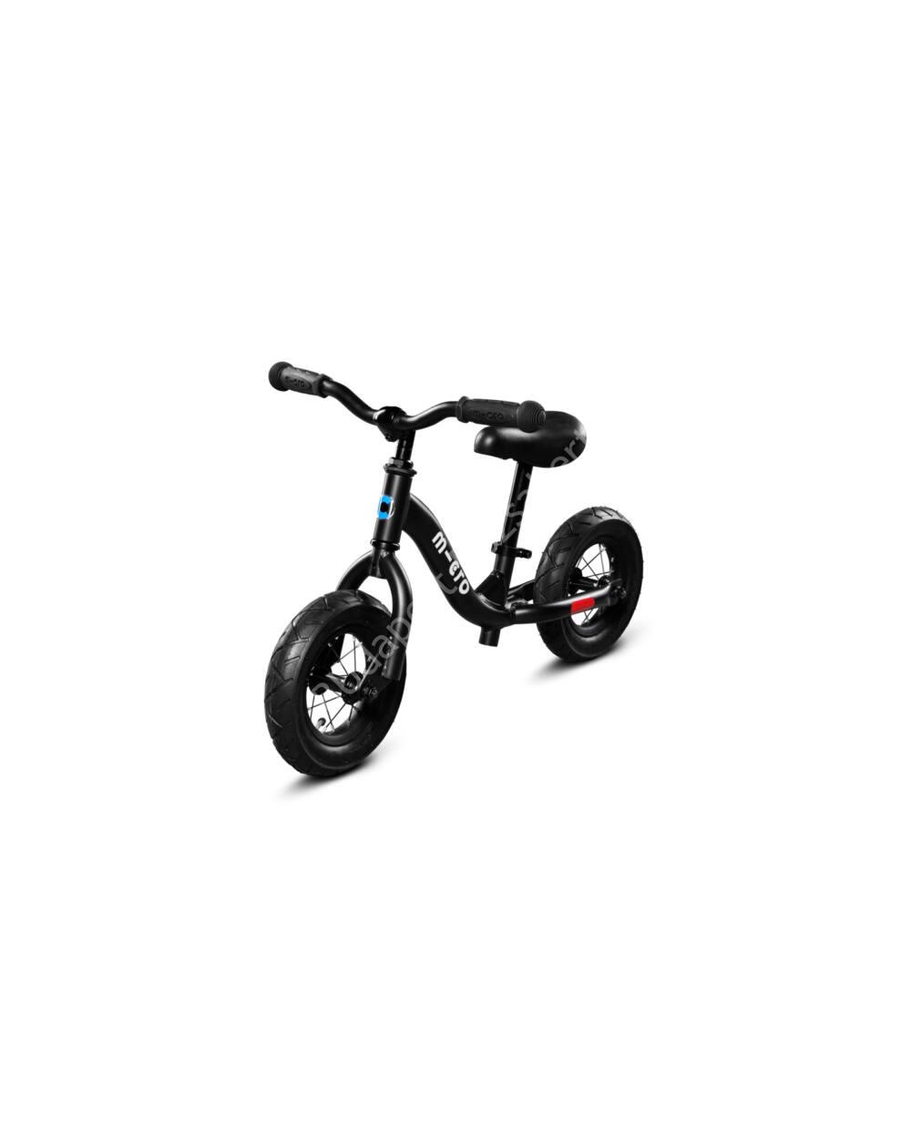 Micro Balance Bike futóbicikli, fekete