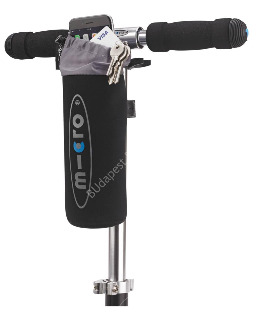Micro roller kulacstartó, fekete