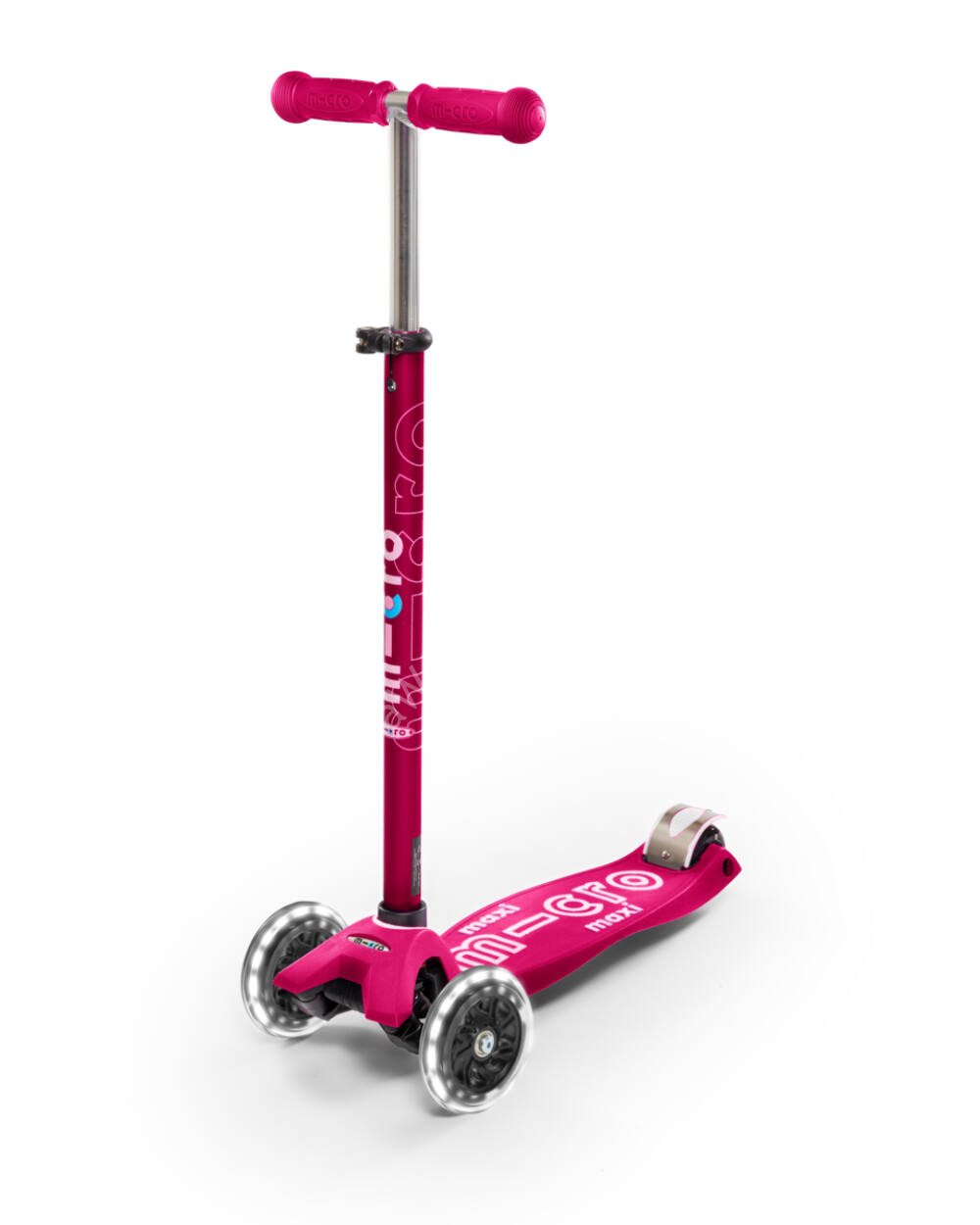 Maxi Micro Deluxe LED roller, pink