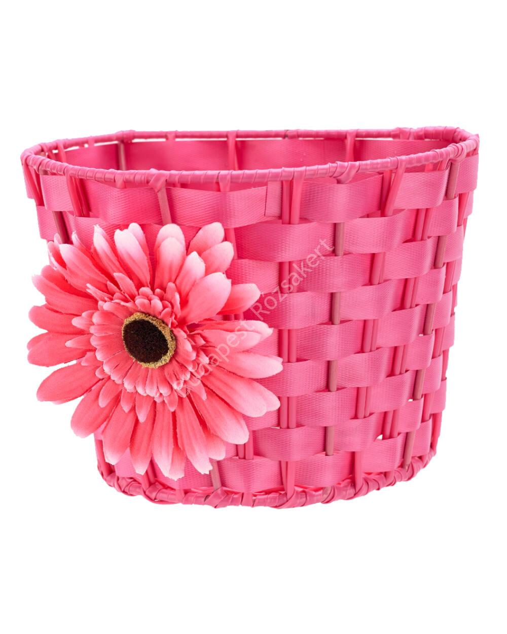 Micro kosár rollerhez vagy futóbiciklihez, pink