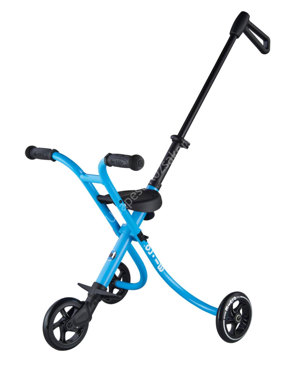 Micro Trike XL háromkerekű, tologatható tricikli, ice blue