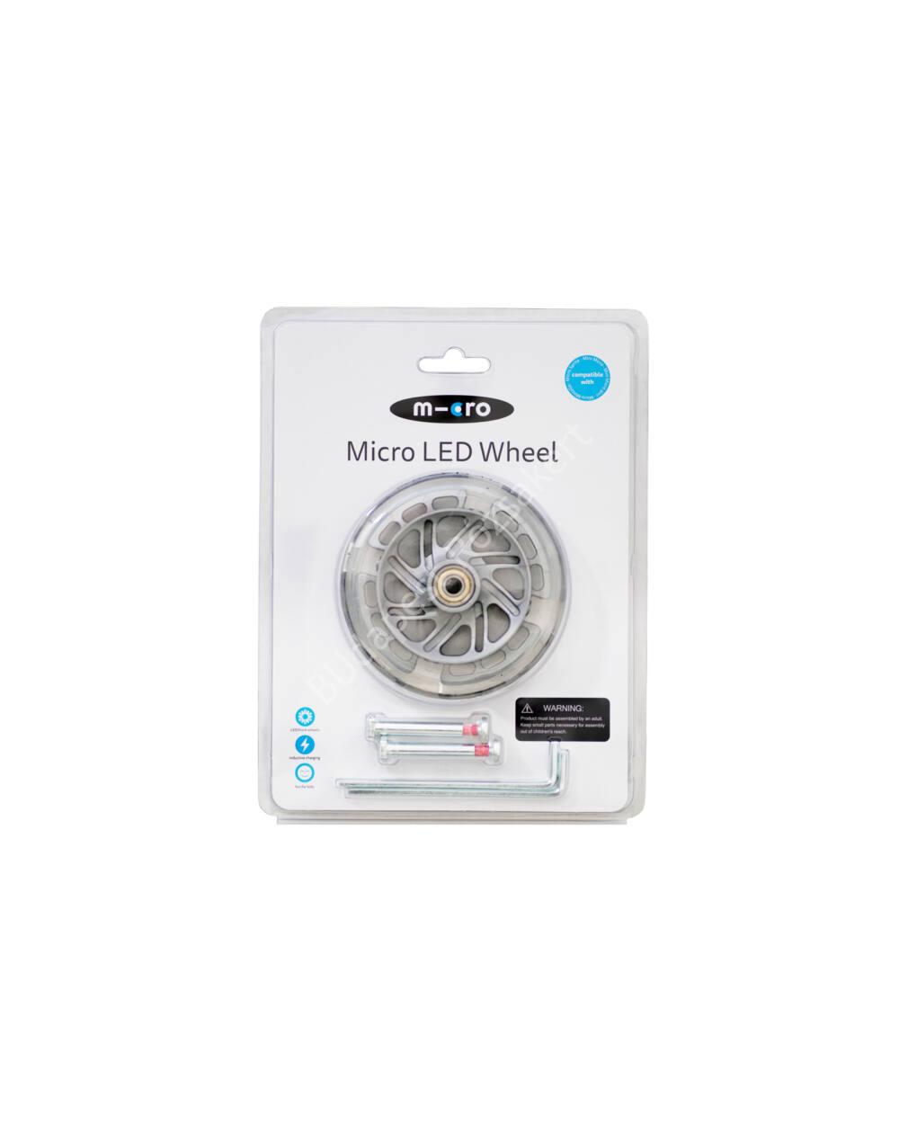 Mini Micro LED világító kerék szett, 2 db