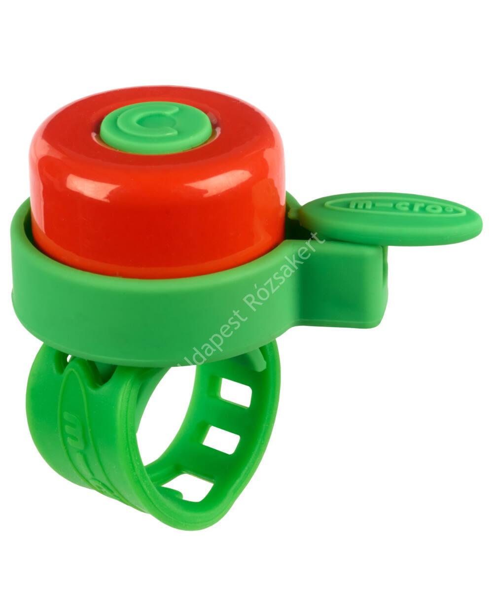 Micro roller csengő, zöld-piros