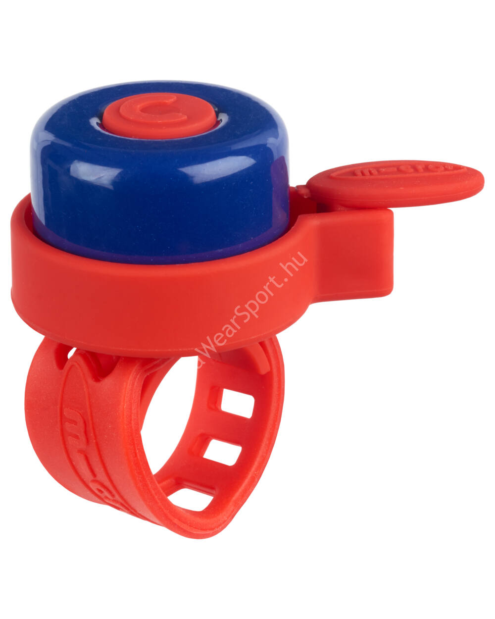 Micro roller csengő, piros-kék