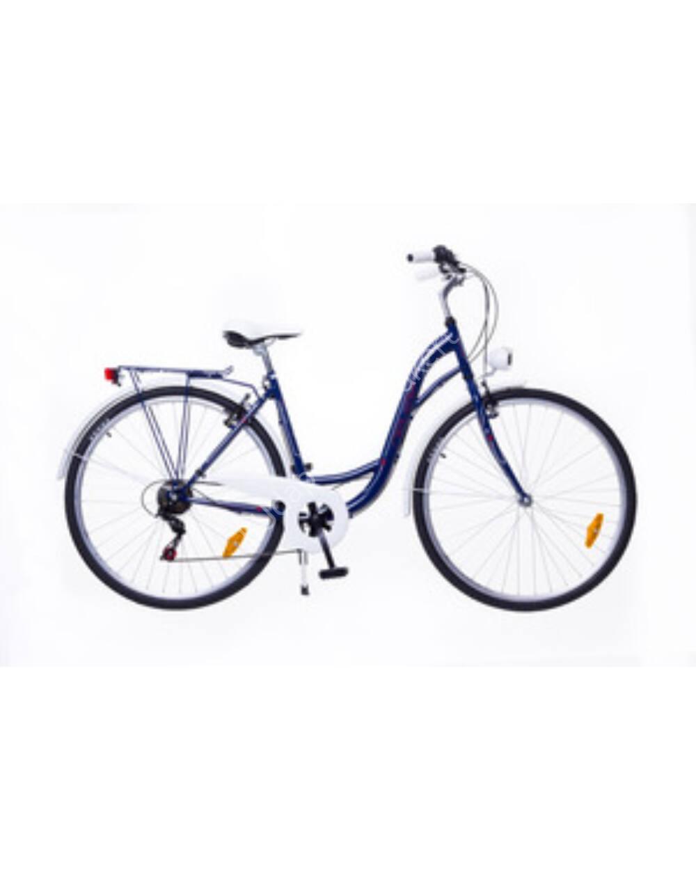 """Neuzer Ravenna 6 Plus sötétkék 19"""" női városi kerékpár"""