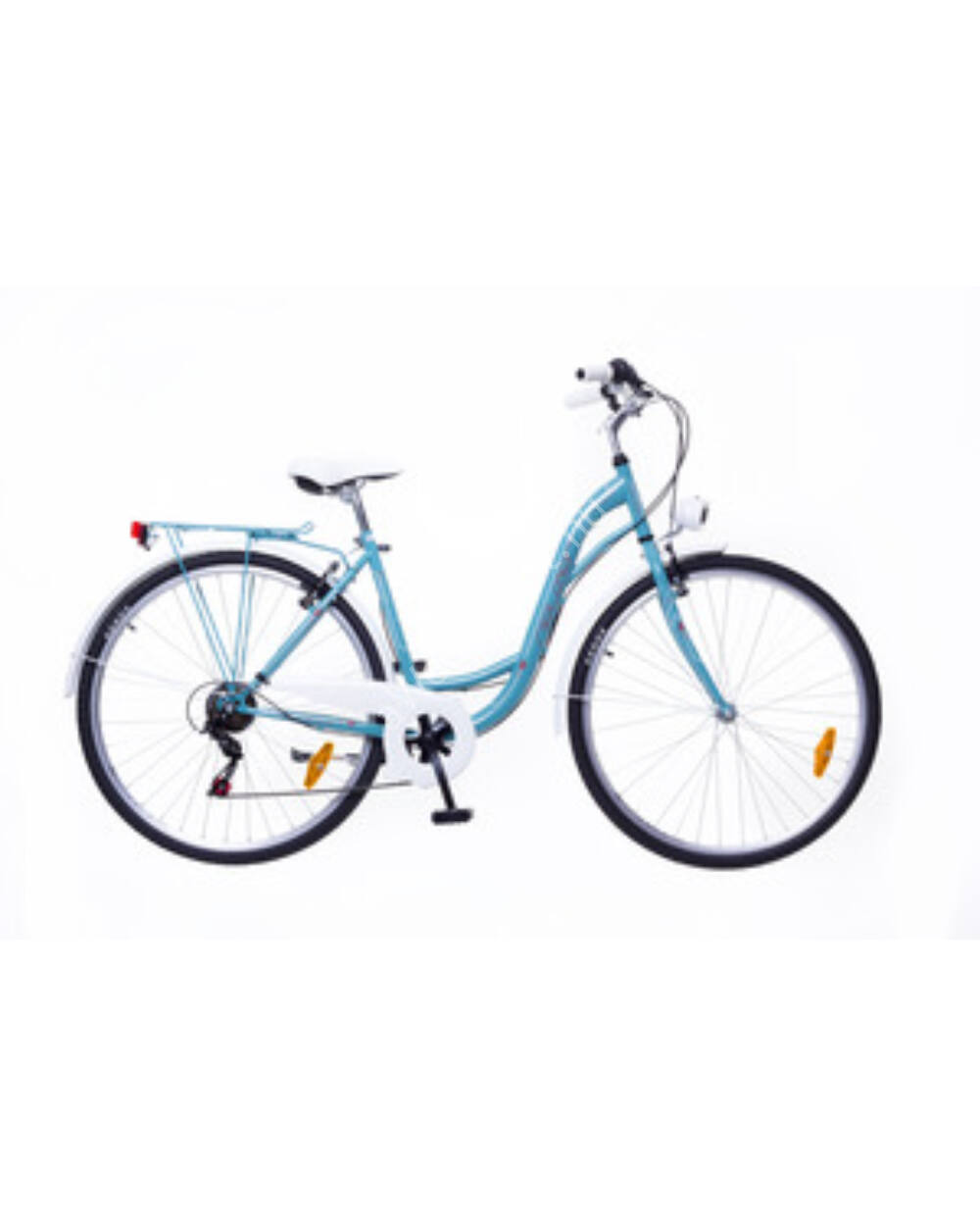 """Neuzer Ravenna 6 Plus türkiz 19"""" női városi kerékpár"""