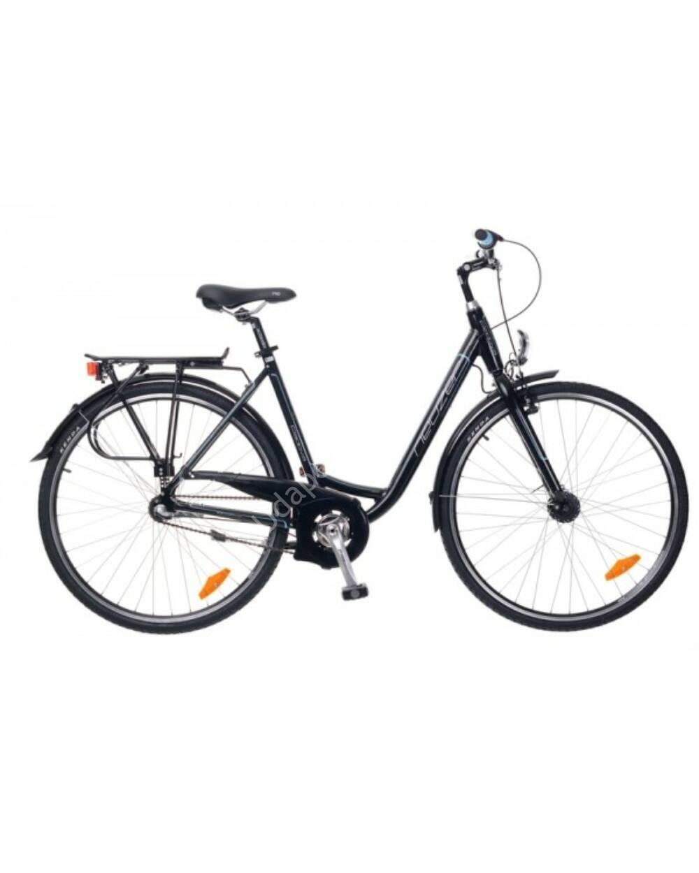 Neuzer Padova 28 női városi kerékpár, fekete/türkiz