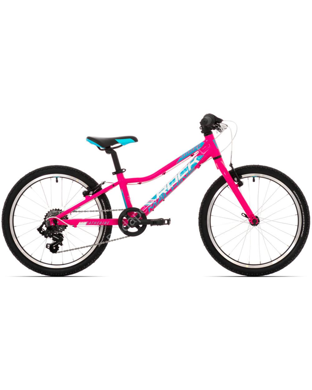 """Rock Machine Catherine 20"""" 6S pink-cián-fehér, 110-125 cm testmagasság, 9.2kg"""