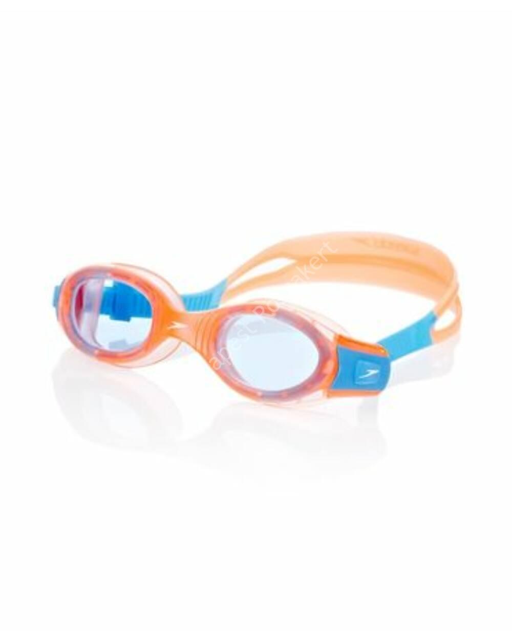 Speedo futura biofuse Junior úszószemüveg 6-14 éves, narancs-kék