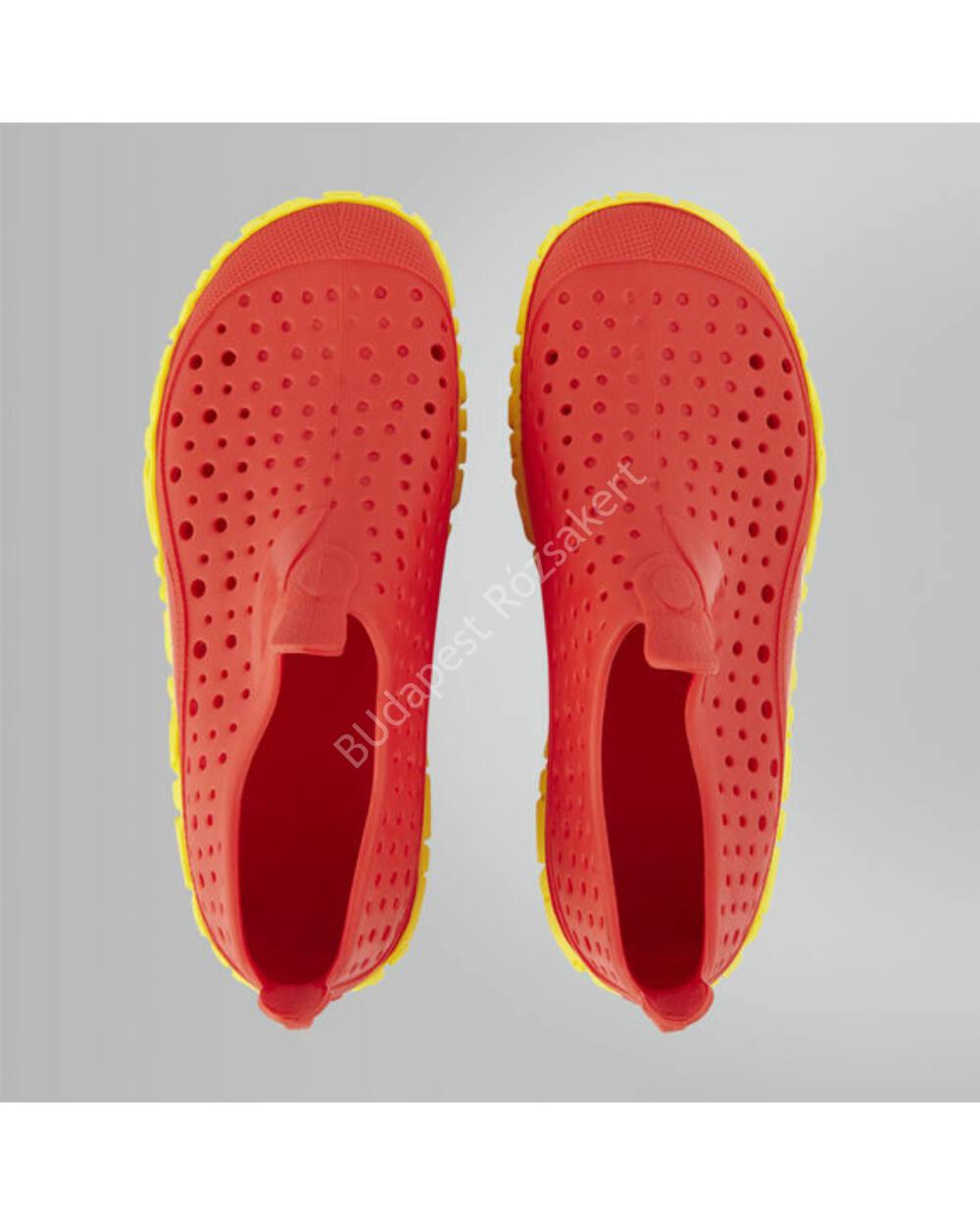 Speedo Jelly Junior gyerek vizicipő piros-sárga 32