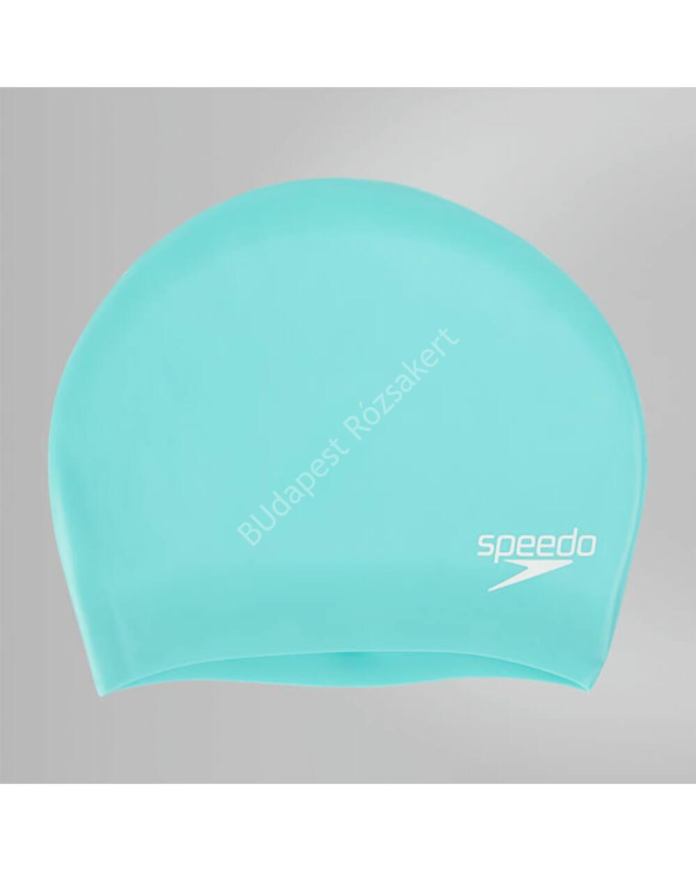 Speedo Long Hair Cap szilikon úszósapka hosszú hajra, türkiz