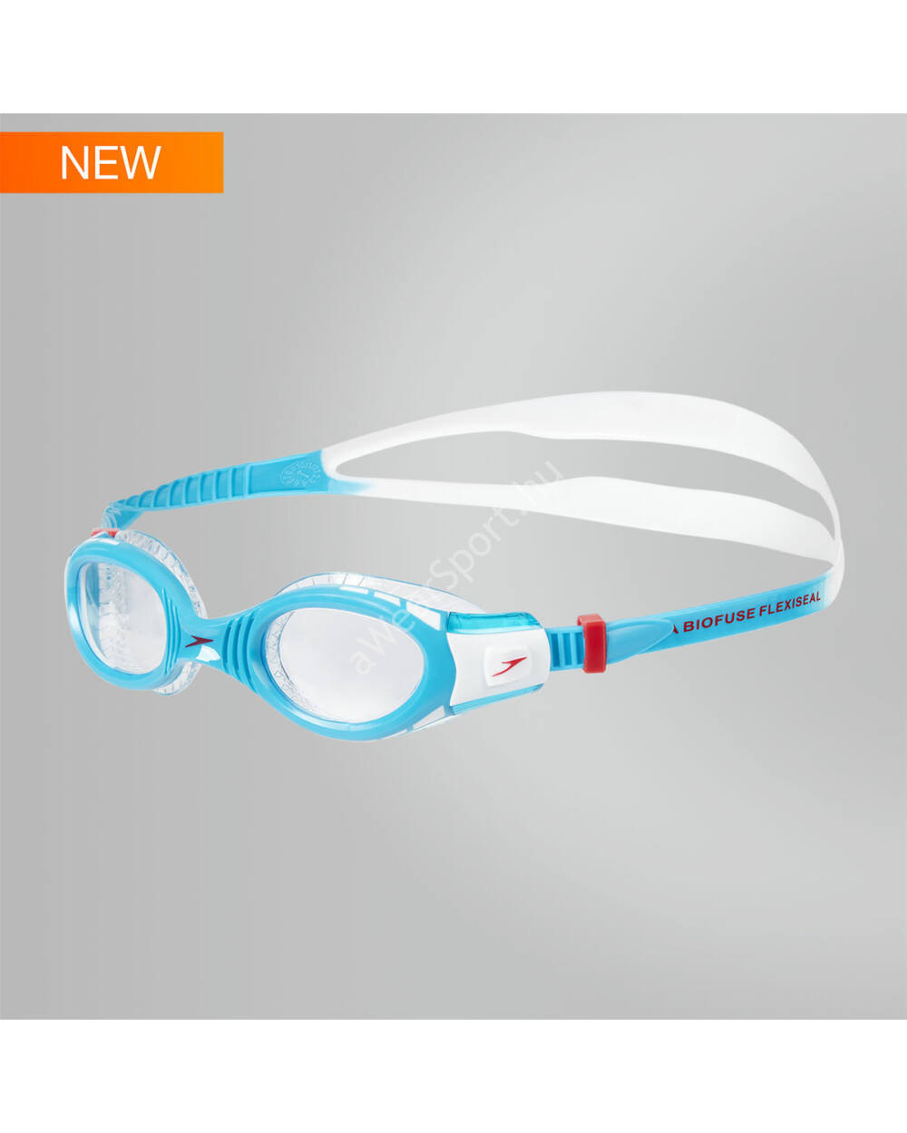 Speedo Futura Biofuse Flexiseal Junior úszószemüveg 6-14 éves, kék