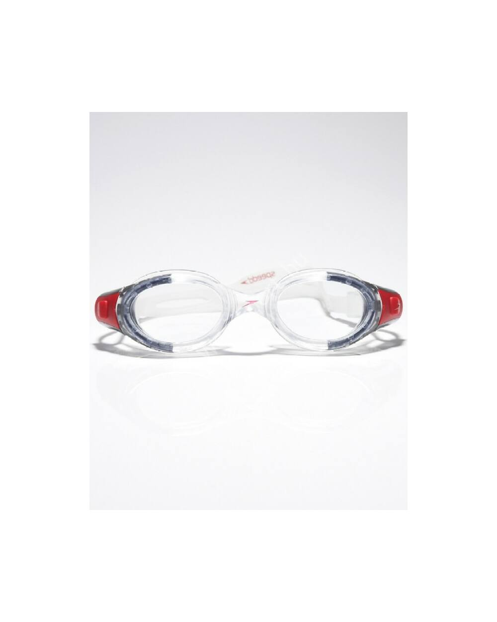 Speedo futura biofuse úszószemüveg, szürke-piros