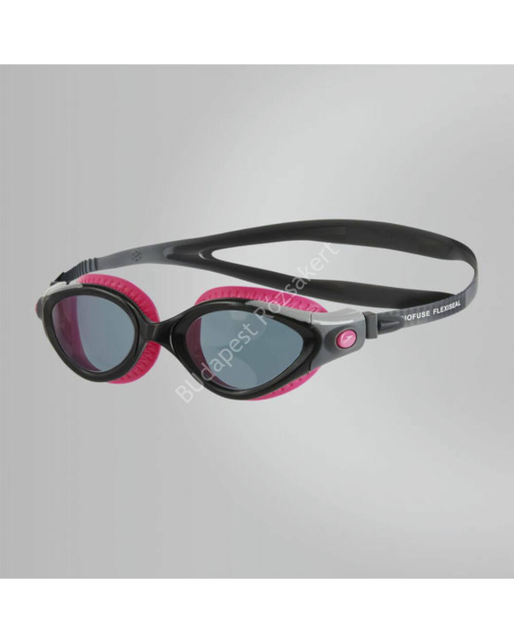Speedo futura biofuse flexiseal női úszószemüveg, fekete-pink