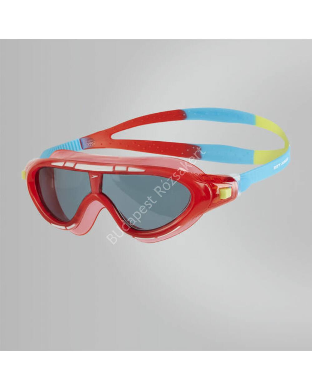 Speedo Rift Mask Junior úszószemüveg, piros 6-14 éves