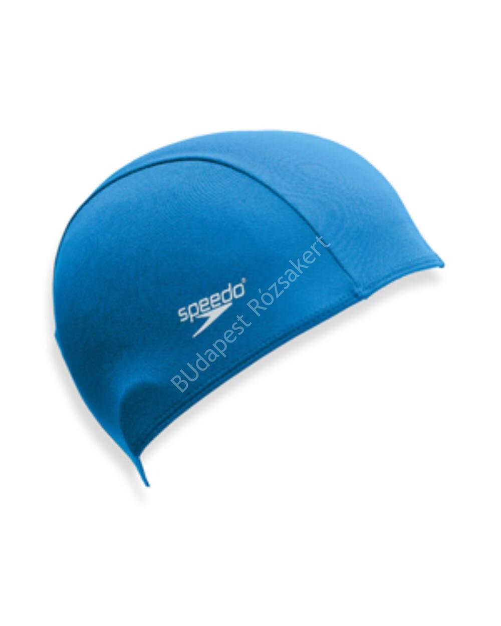 Speedo junior poliészter úszósapka, kék