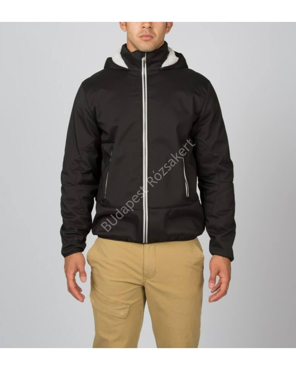 Spyder Halcyon softshell férfi kabát szőrös polár belsővel, fekete, XL
