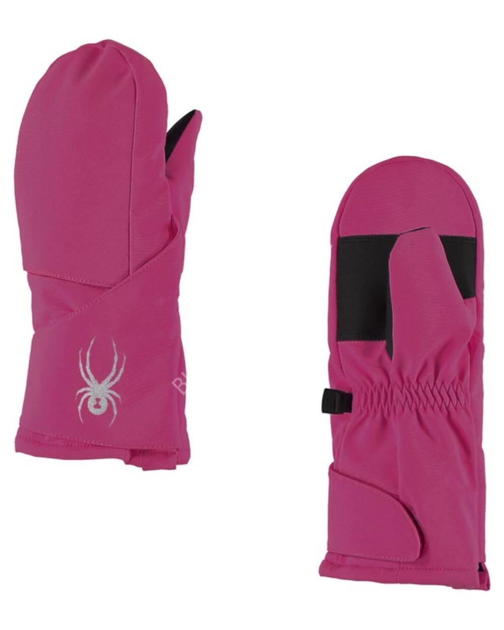 Spyder Cubby egyujjas gyerek síkesztyű, pink