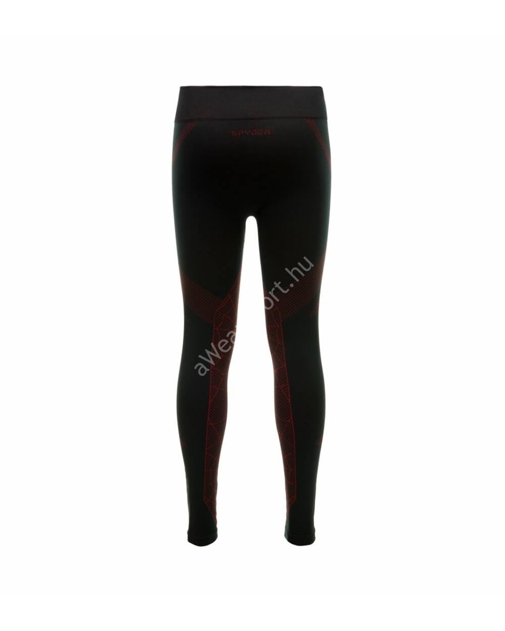 Spyder Captain Pant férfi aláöltözet nadrág, black-red, L/XL