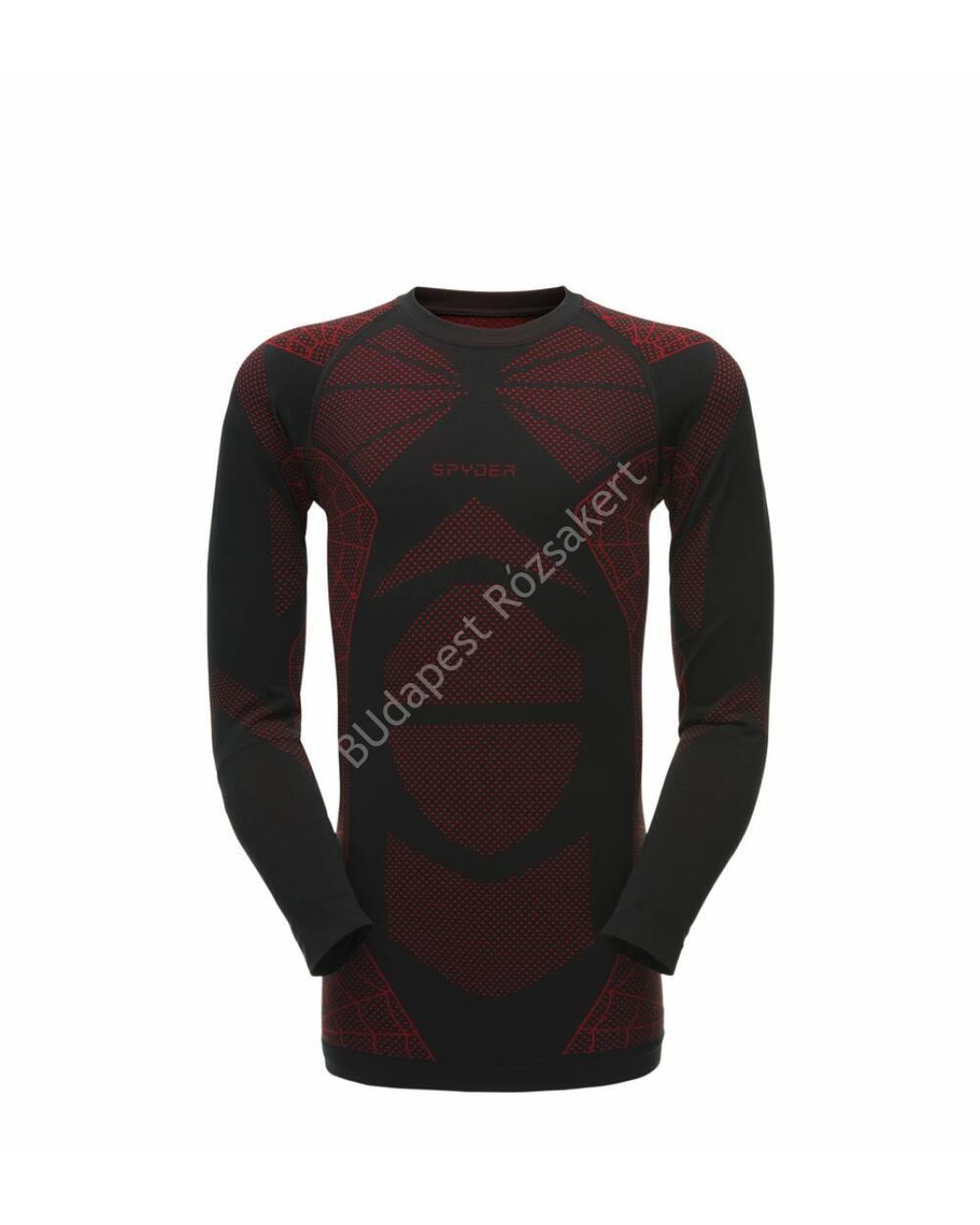 Spyder Captain Pant férfi aláöltözet felső, black-red, L/XL