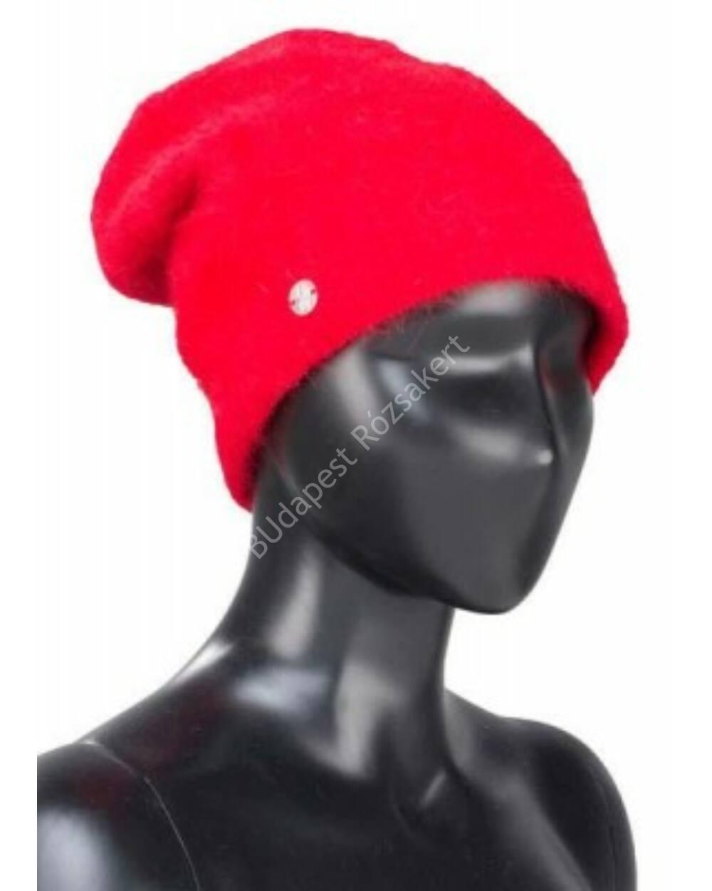 Spyder Deluxe női sísapka, piros