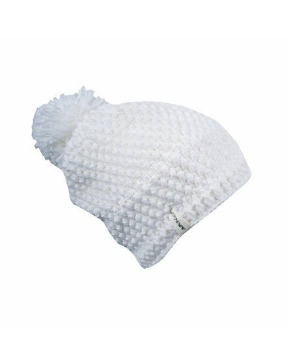 Spyder Brrr Berry Hand Knit Hat white sapka