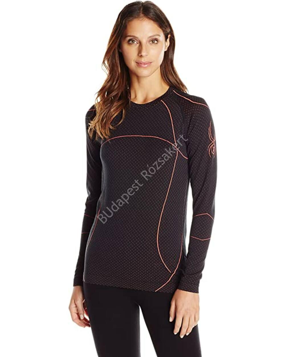 Spyder Olympian X-tatic antibakteriális női aláöltözet szett, fekete