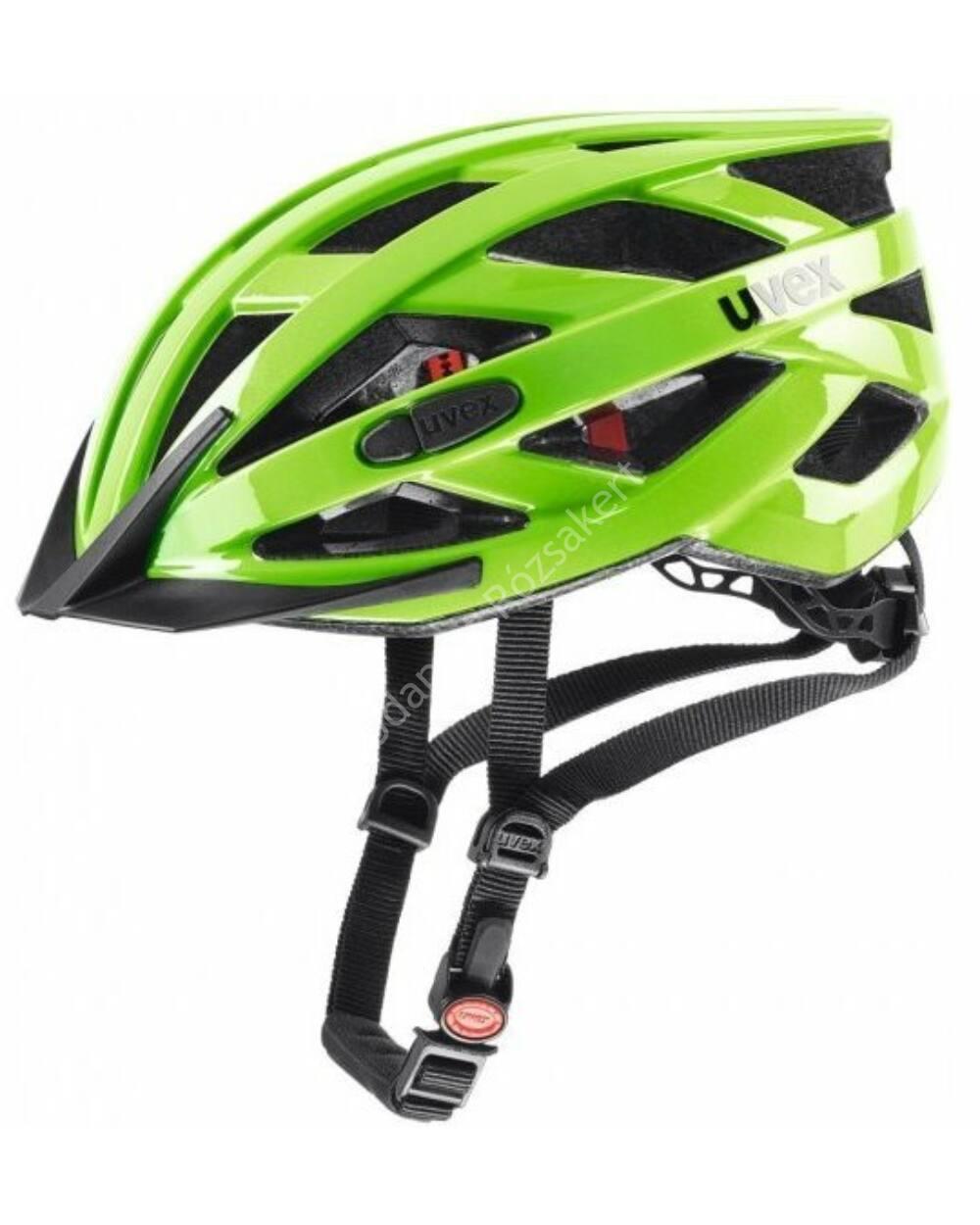 Uvex I-VO 3D kerékpáros bukósisak, zöld 52-57cm
