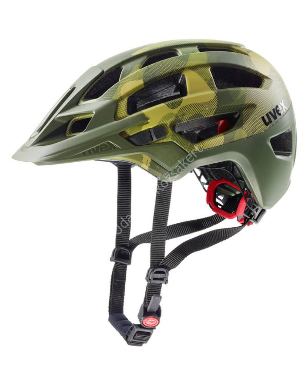 Uvex Finale 2.0 kerékpáros bukósisak, camouflage mat, 52-57 cm