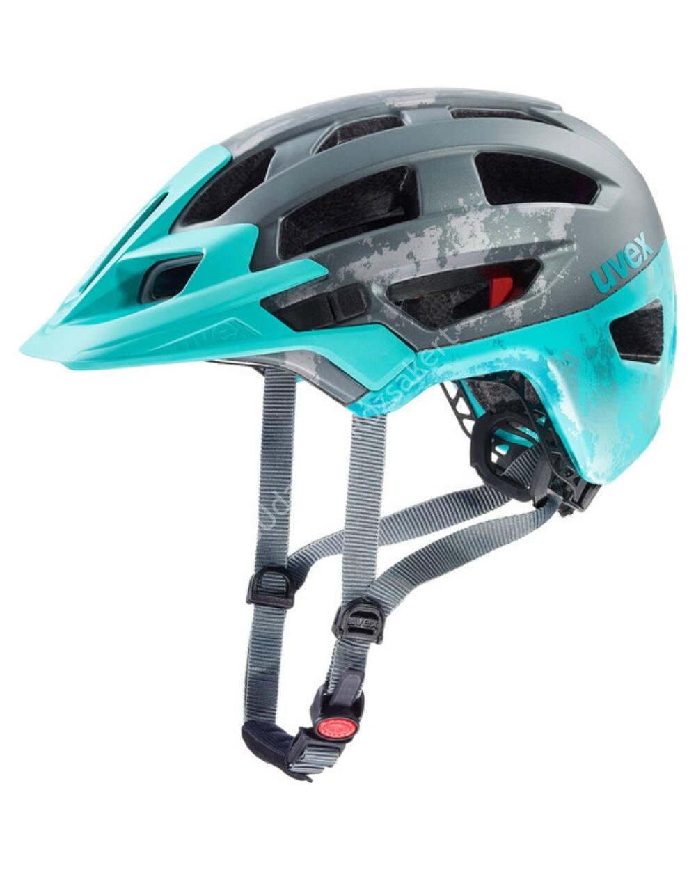 Uvex Finale 2.0 kerékpáros bukósisak, grey lightblue mat, 52-57 cm