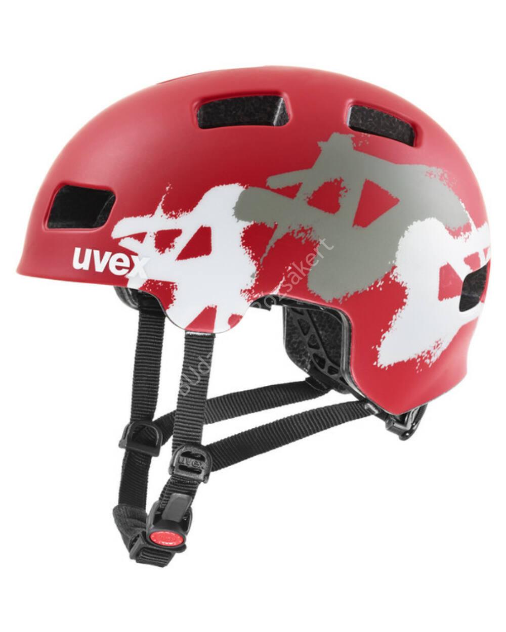 Uvex Hlmt 4 CC red mat bukósisak, 51-55 cm
