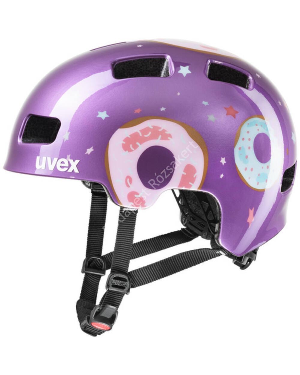 Uvex Hlmt 4 purple donut bukósisak, 55-58 cm
