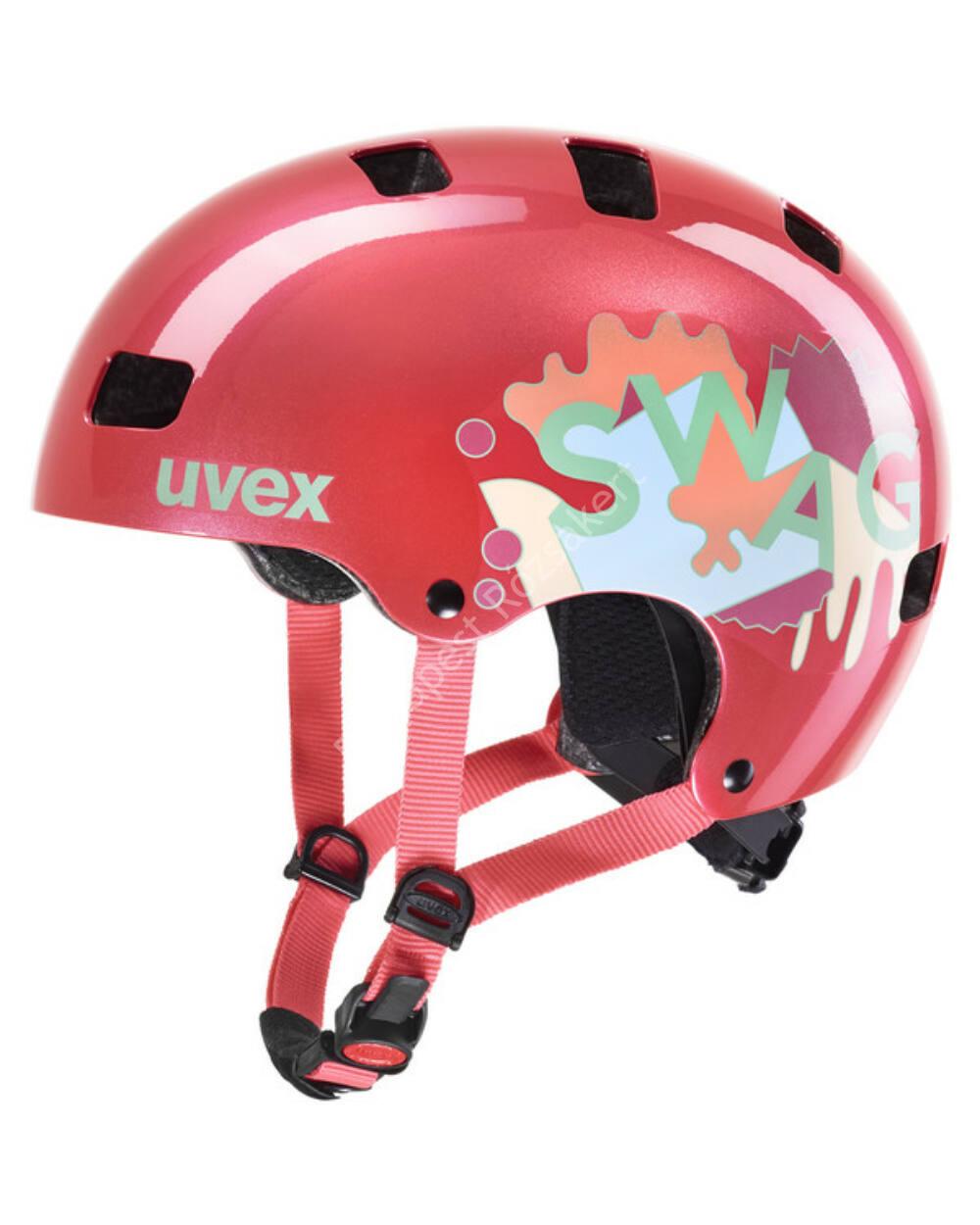 Uvex Kid 3 Coral bukósisak, 55-58 cm