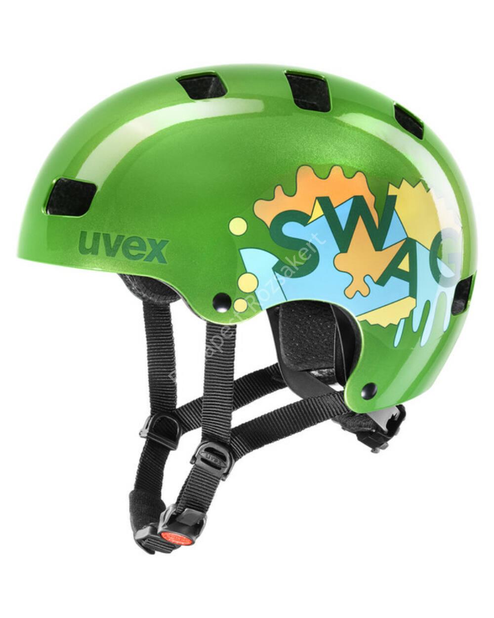 Uvex Kid 3 Green bukósisak, 51-55 cm