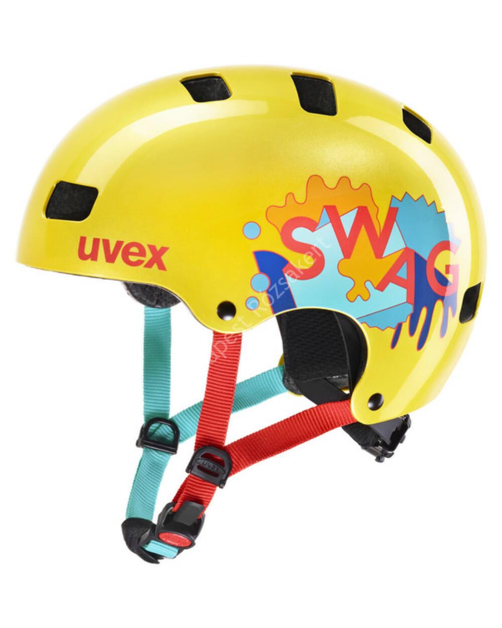 Uvex Kid 3 Yellow bukósisak, 55-58 cm