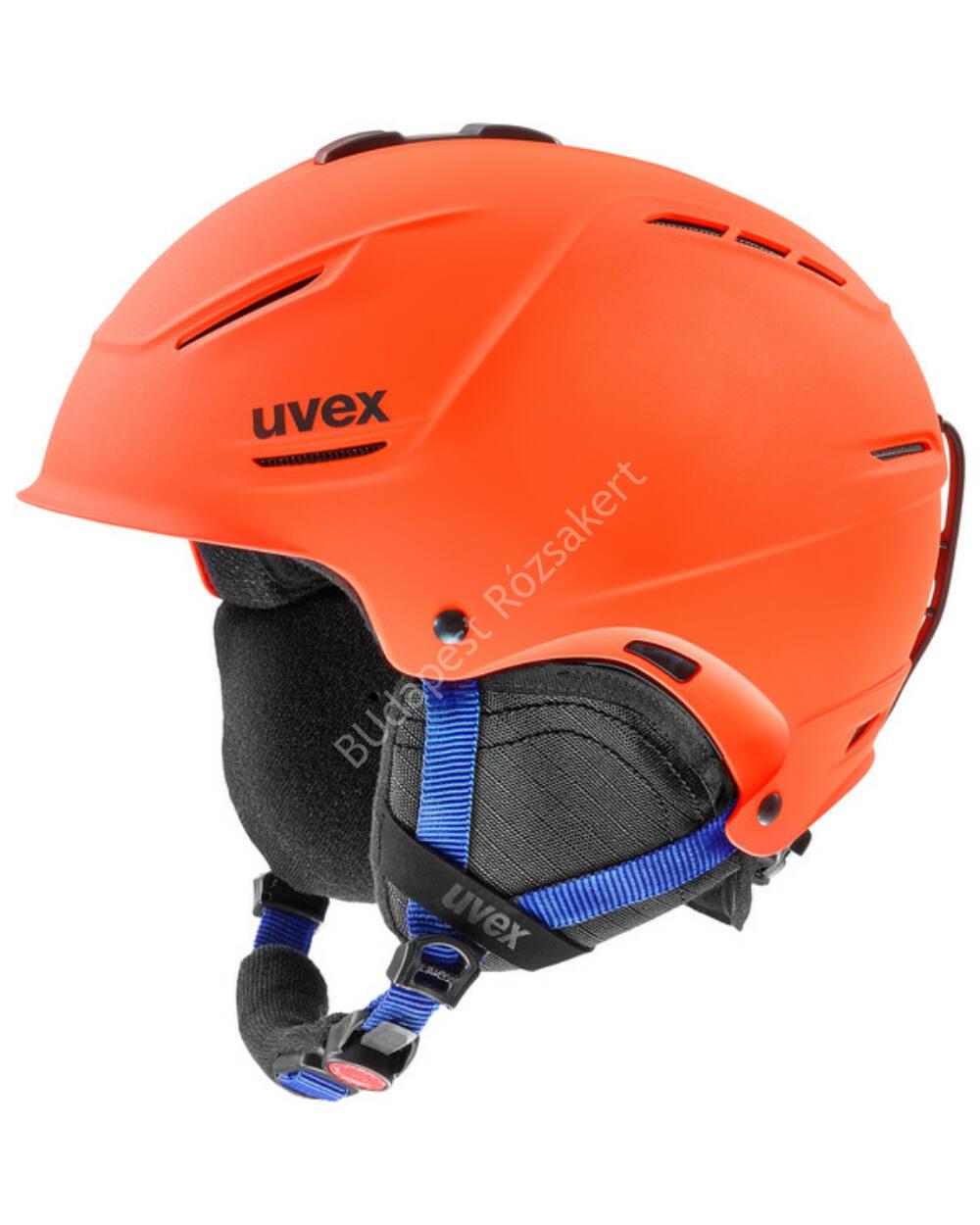 Uvex p1us 2.0 orange mat sísisak, 52-55cm