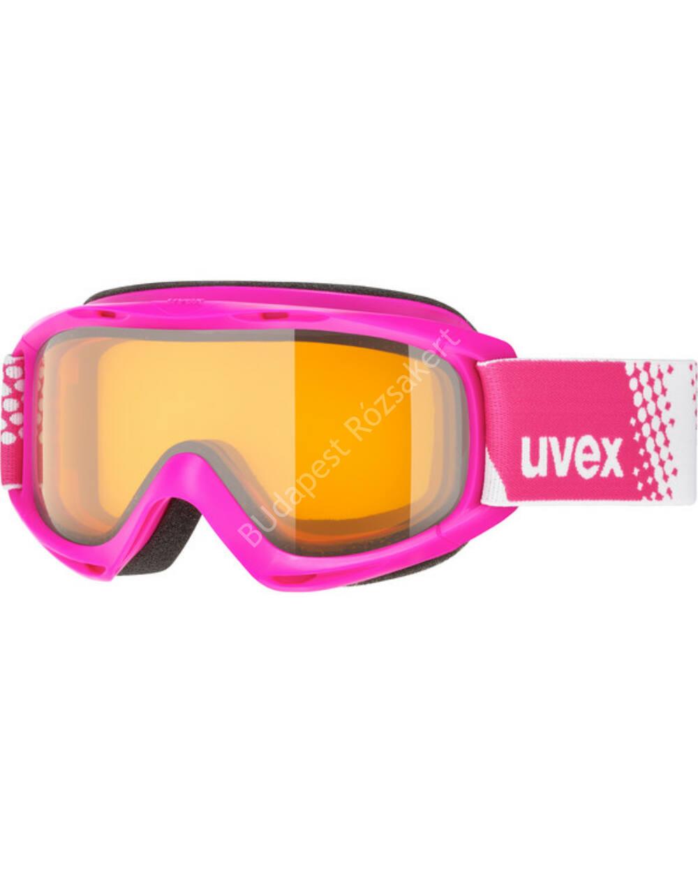 Uvex slider LGL síszemüveg, pink