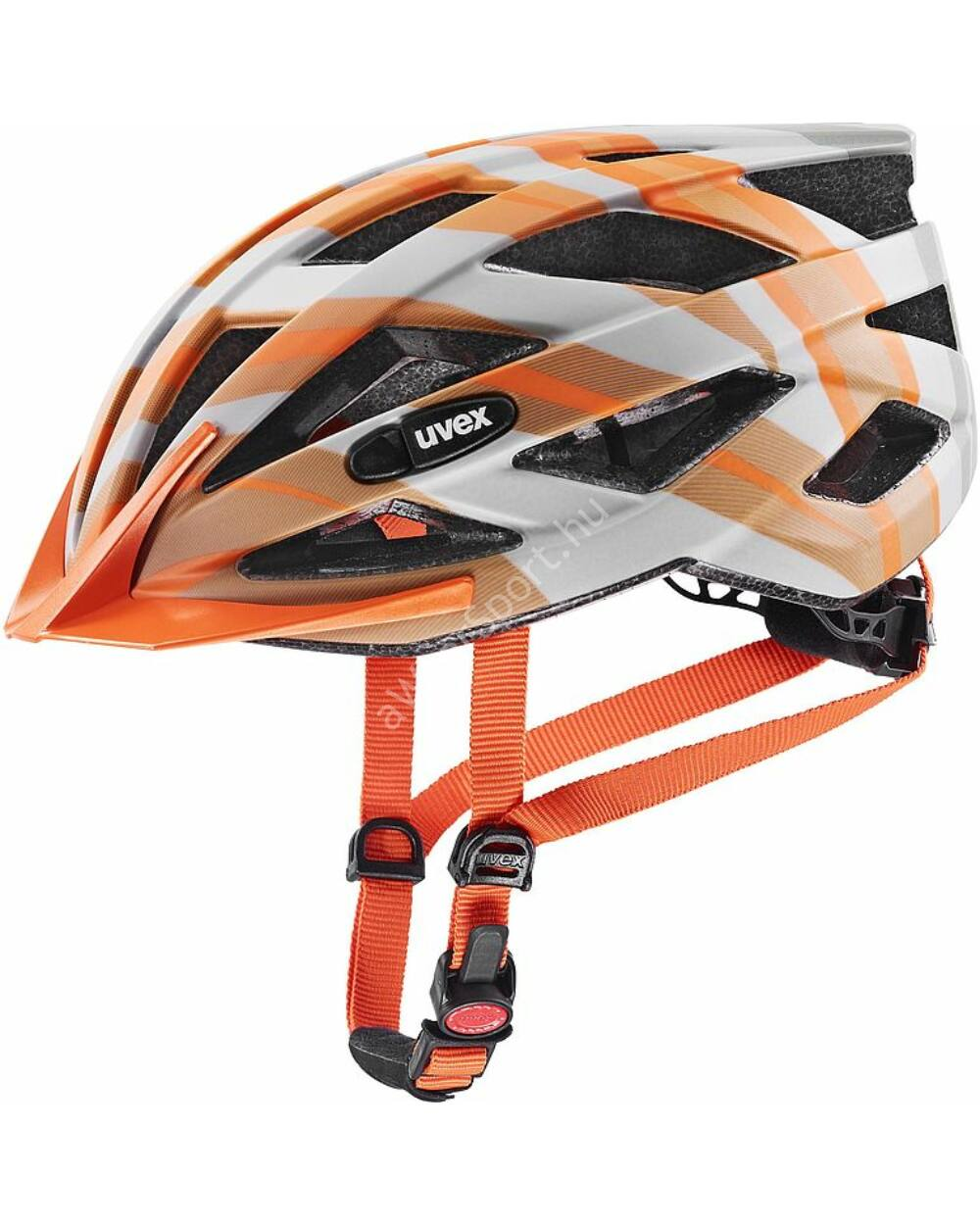 Uvex Air Wing cc grey-orange mat bukósisak, 52-57 cm