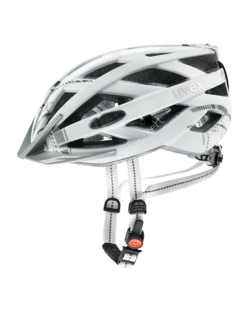 Uvex City I-VO kerékpáros bukósisak, white mat, 52-57cm