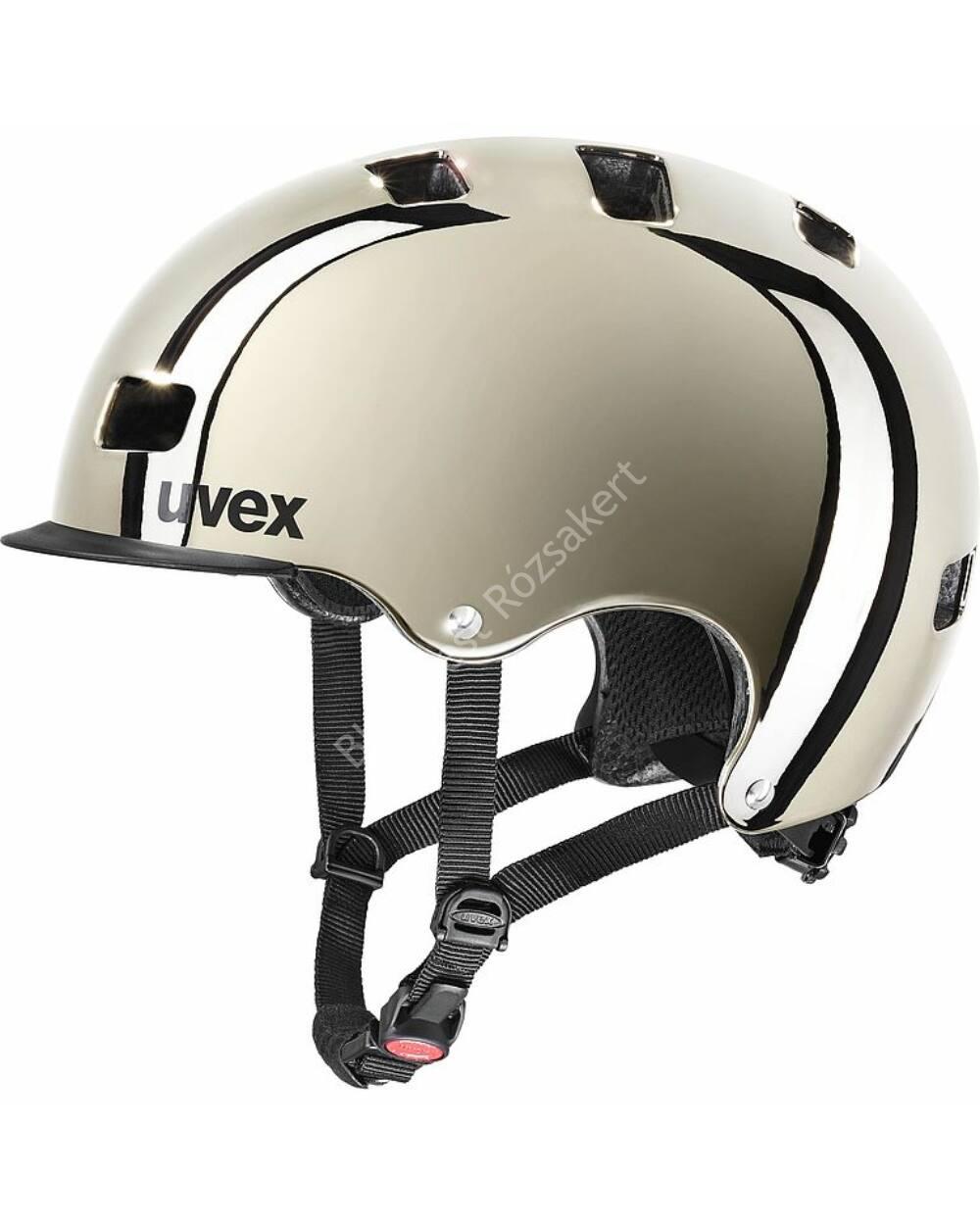 Uvex Hlmt 5 bike pro chrome bukósisak, 58-61 cm