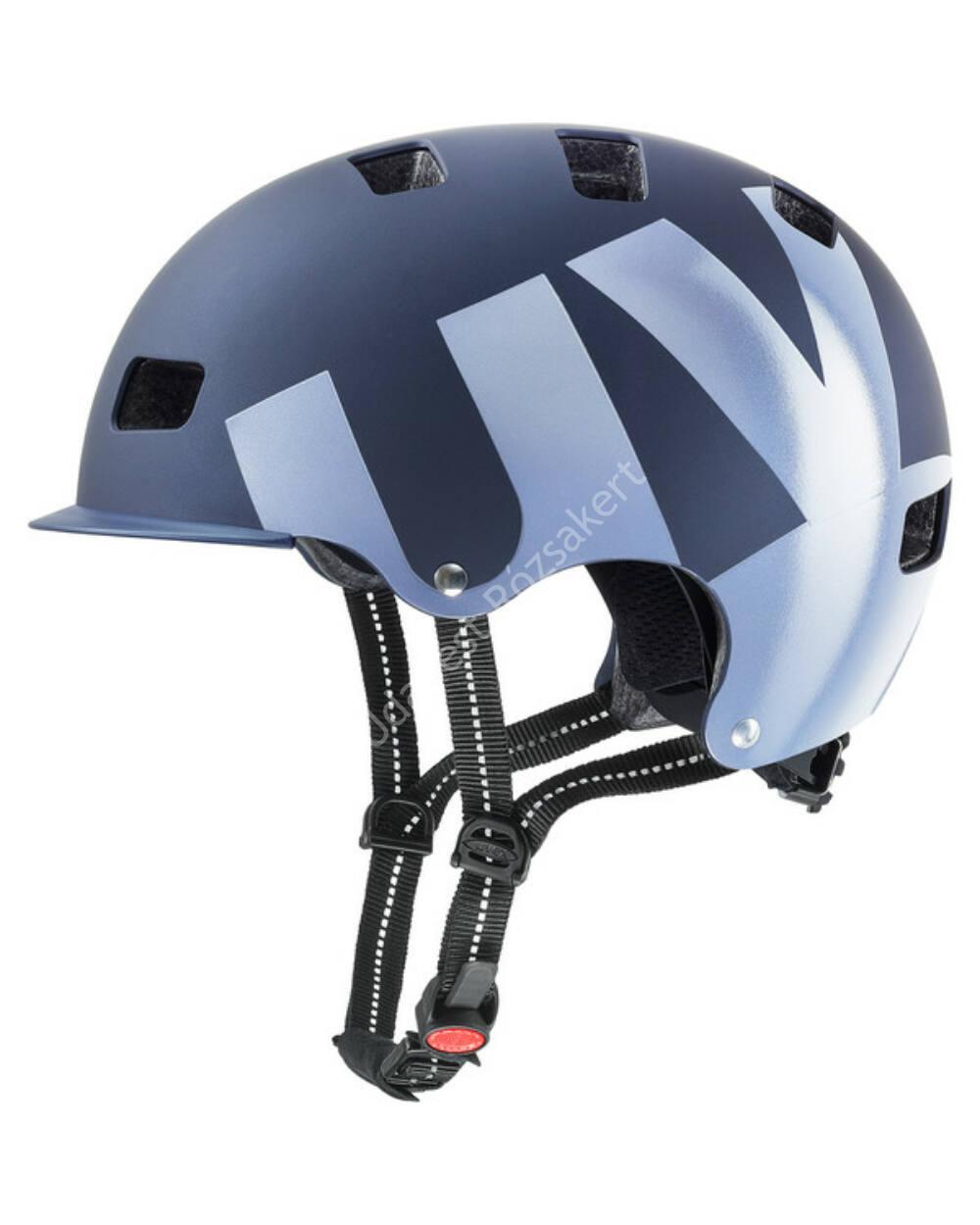 Uvex HLMT 5 bike pro bukósisak, dark blue mat, 55-58cm