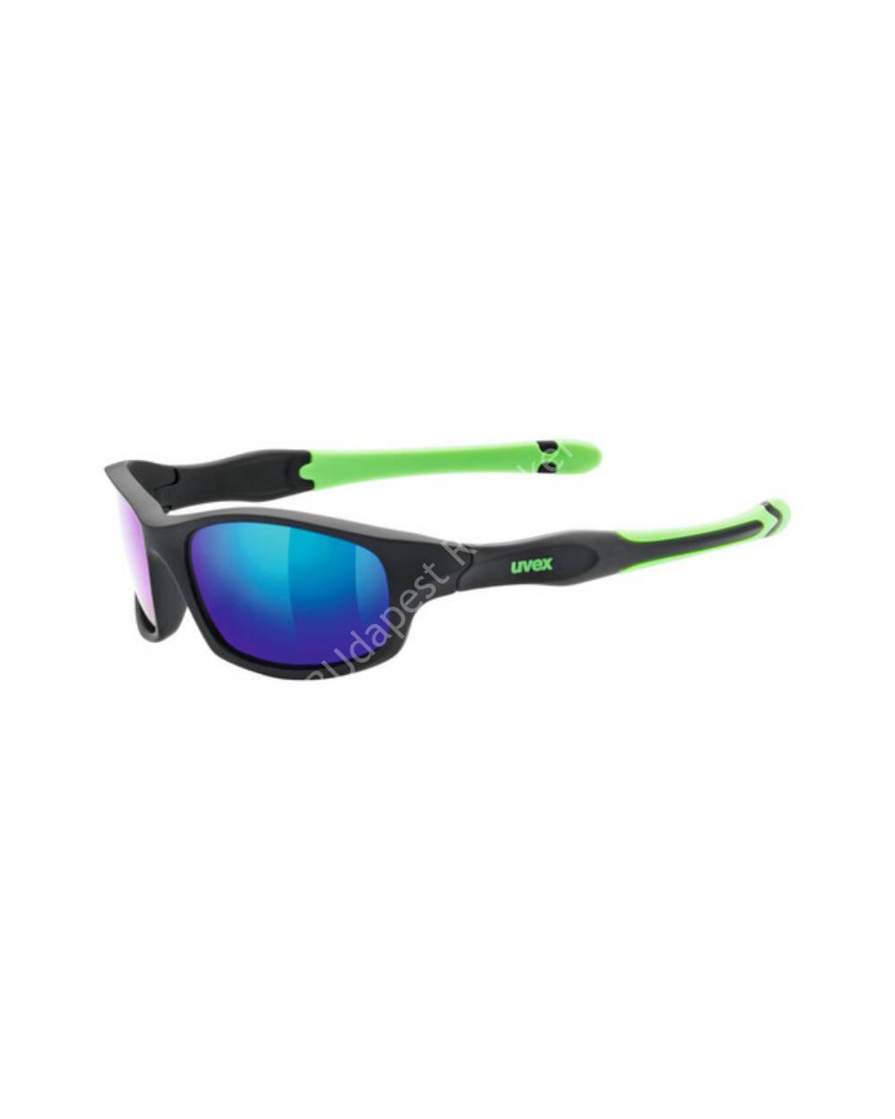 Uvex Sportstyle 507 gyerek napszemüveg, black-green