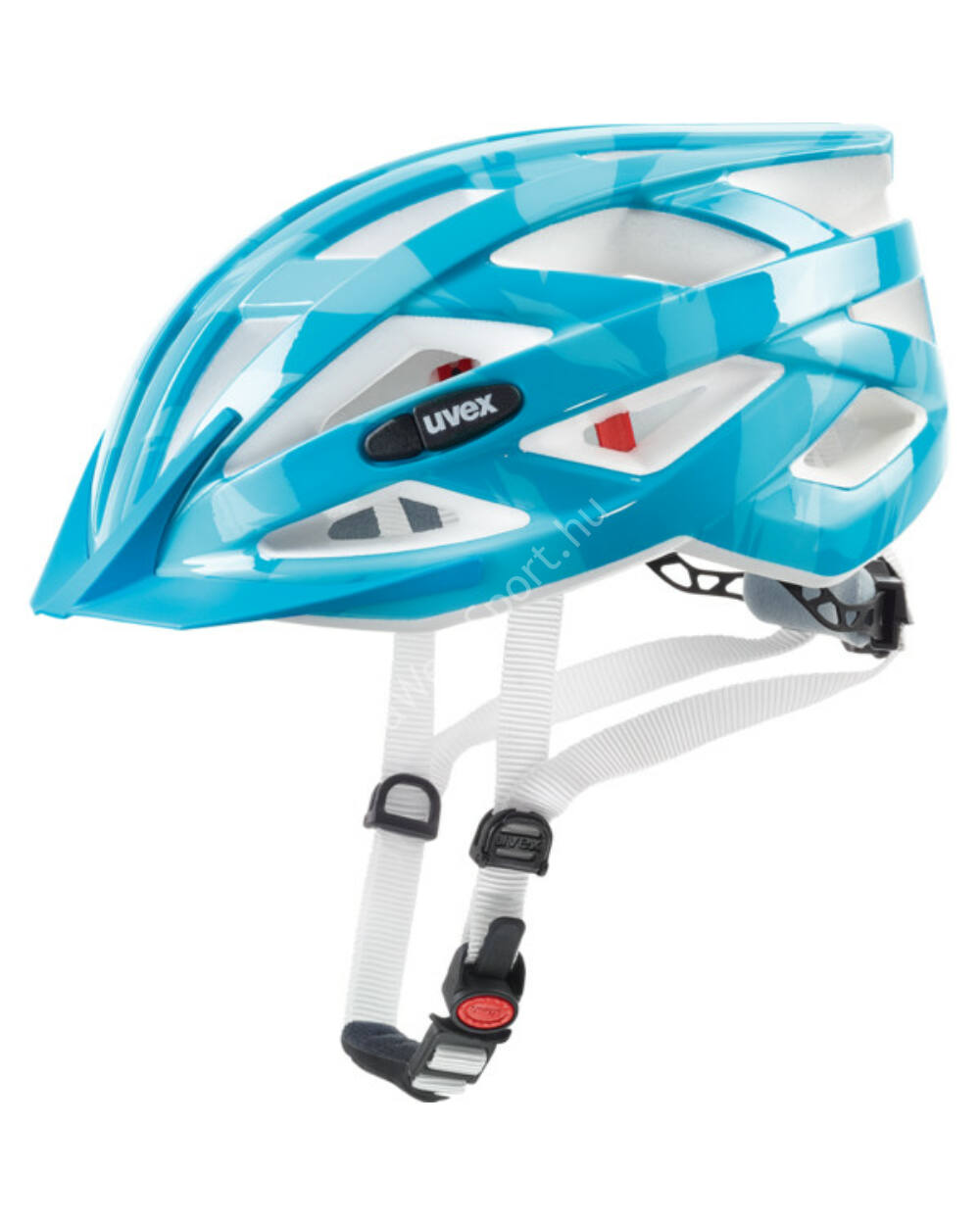 Uvex I-VO C kerékpáros bukósisak, lightblue, 52-57cm