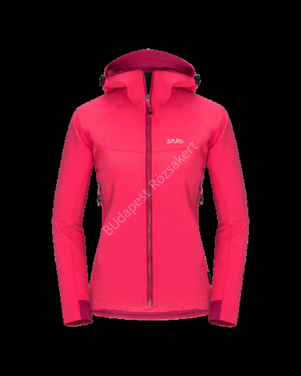 Zajo Air LT Hoody W Jkt  női softshell kabát, teaberry, XL