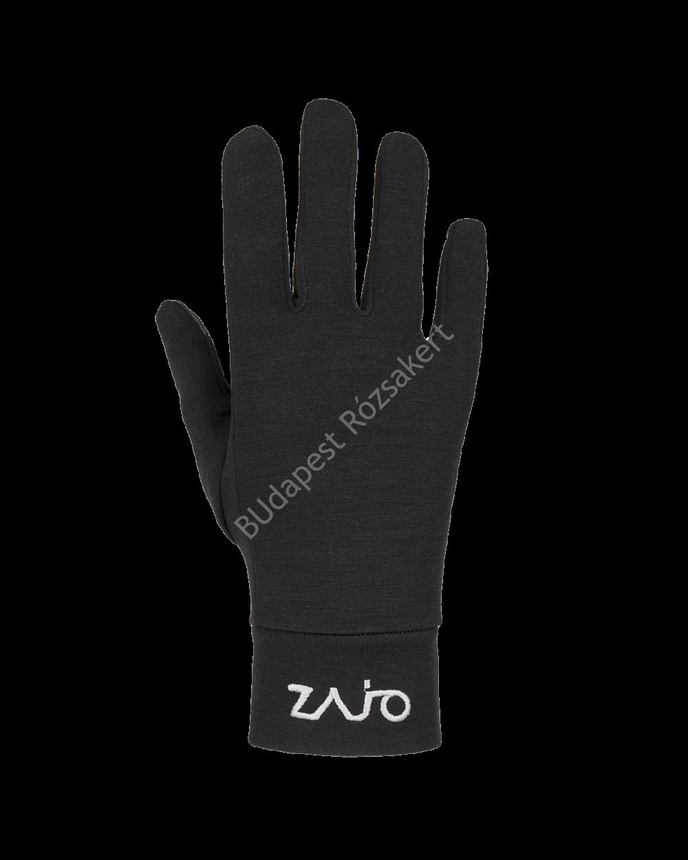 Zajo Hals polár kesztyű, fekete, XL/2XL