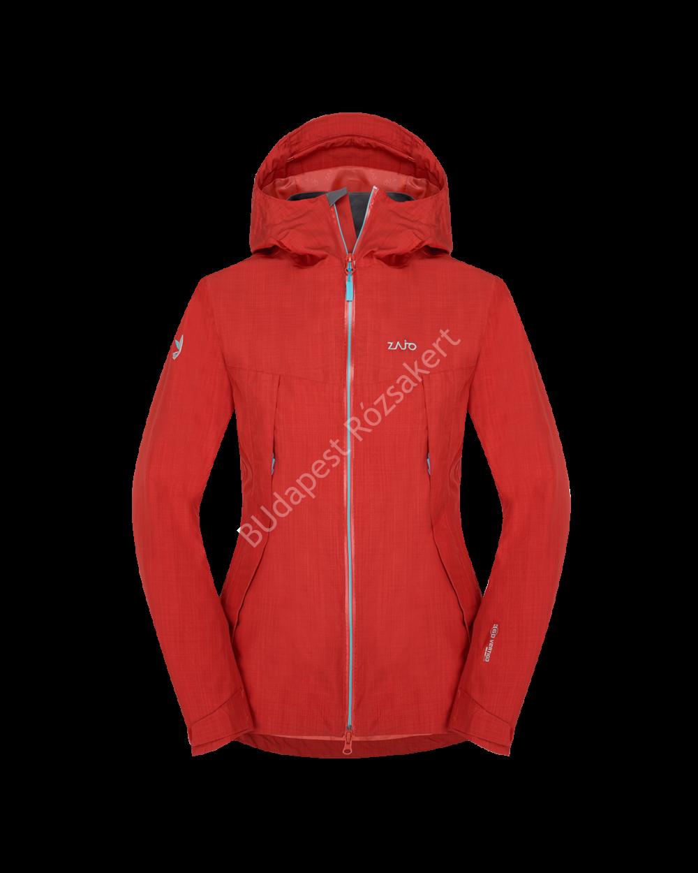 Zajo Arosa Neo W Jkt 15.000mm-es vízálló, lélegző női kabát, racing red, XS