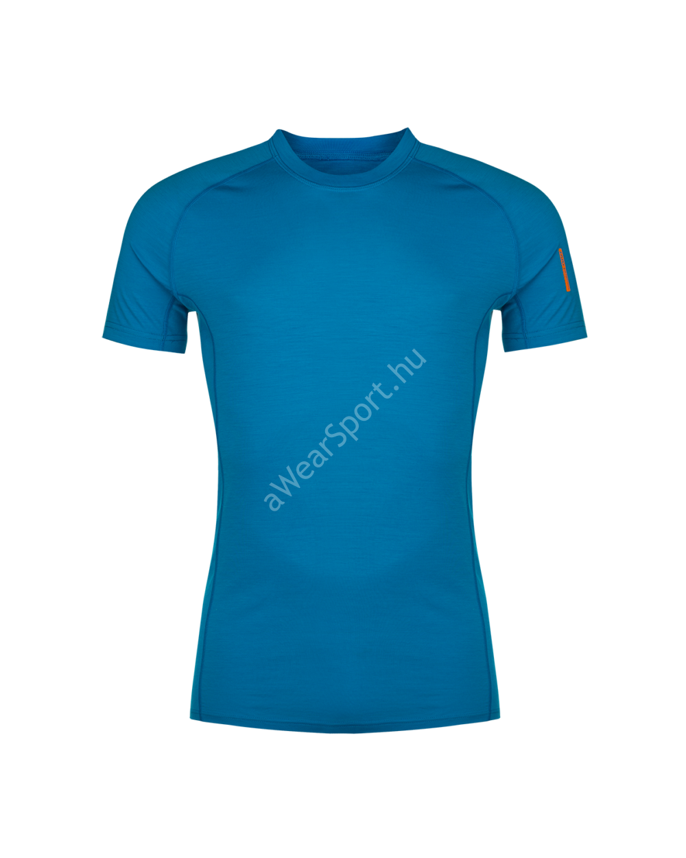 Zajo Bjorn Merino Tshirt SS férfi merinói gyapjú aláöltözet felső, greek blue