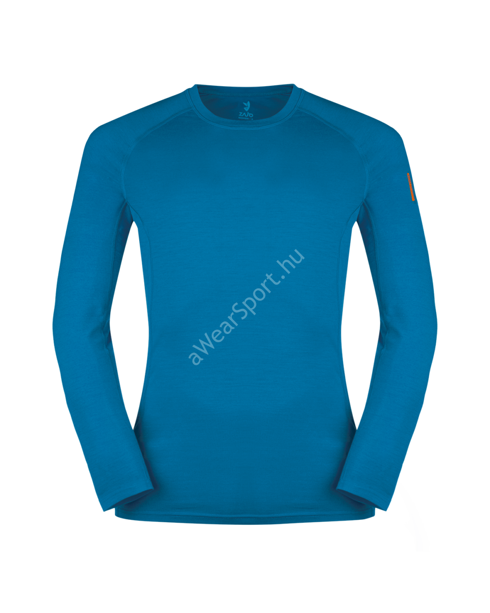 Zajo Bjorn Merino Tshirt LS férfi merinói gyapjú aláöltözet felső, greek blue