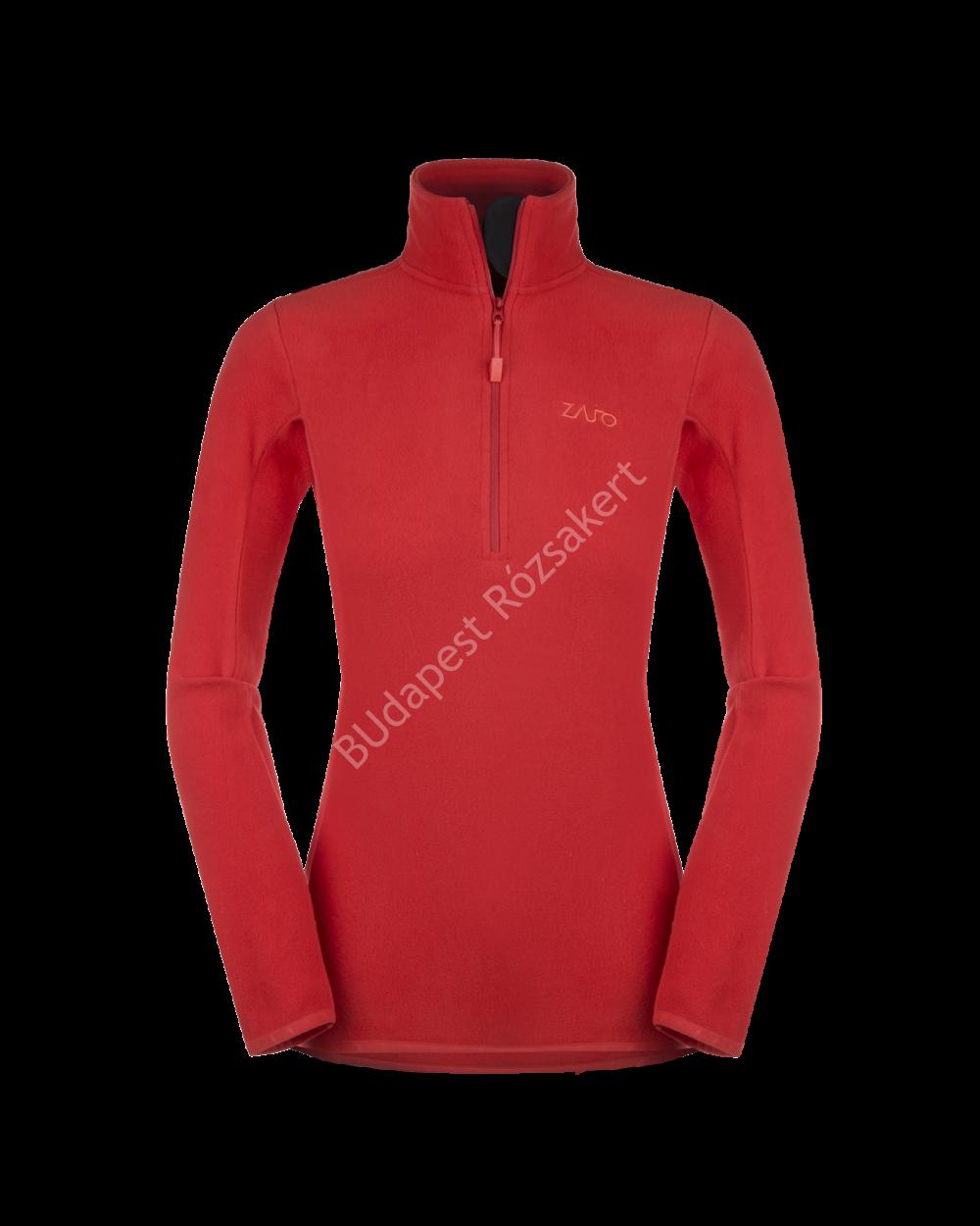 Zajo Malmo W Pull Neo Polartec női pulóver, racing red, XS