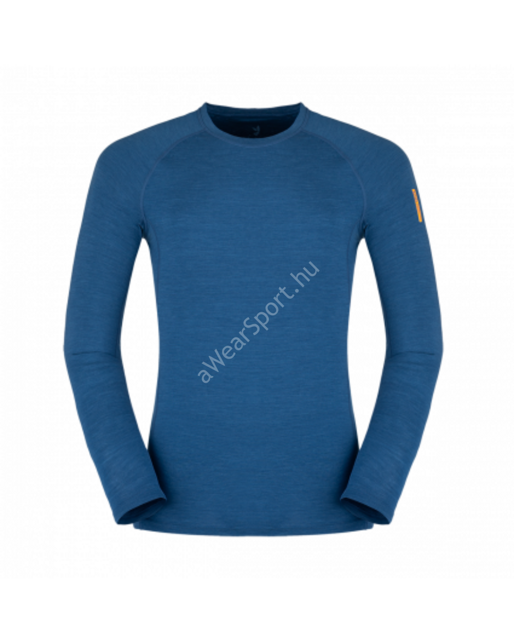 Zajo Bjorn Merino T-Shirt LS férfi merinói gyapjú aláöltözet felső, poseidon blue